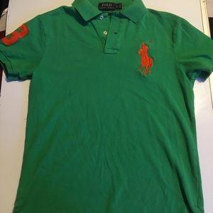 Ralph Lauren Polo Size Small Green Shirt